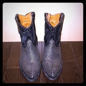 Free People Mexicans Studded Boots